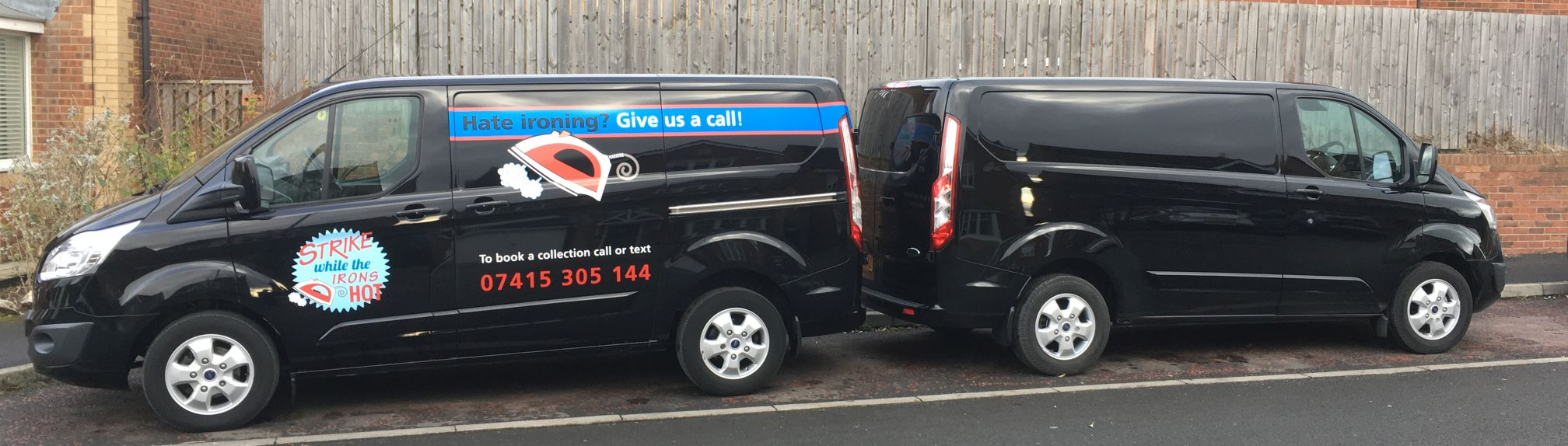 Our vans cover County Durham and Sunderland six nights per week